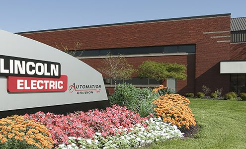 Lincoln Electric Automation Center